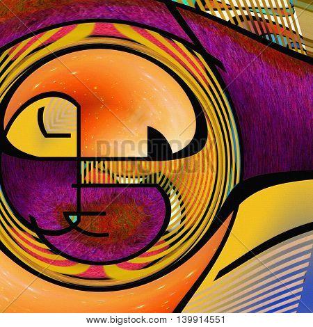 Circular Abstract