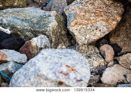 Rock texture in close up for background and abstract