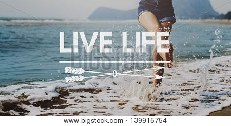 Live Your Life YOLO You Only LIve Once Concept