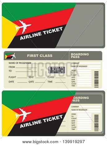Flight trip for a flight to Azawad with the service envelope.