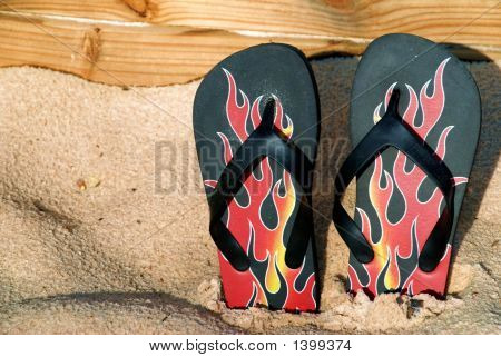 Flaming Flipflops