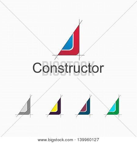 Logo suitable for architectural design bureau or other organization