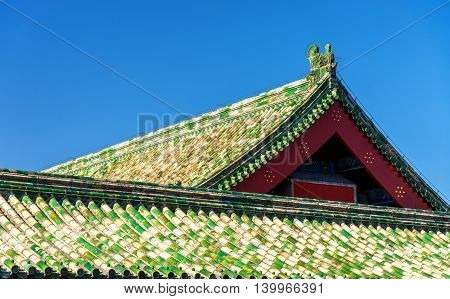 Roofs of the Temple of Heaven in Beijing