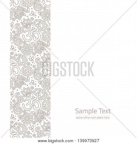 Vector Ornate Background