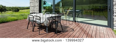 Place For Outside Dining