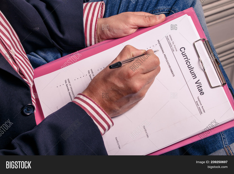 Curriculum Vitae Cv Image & Photo (Free Trial)   Bigstock