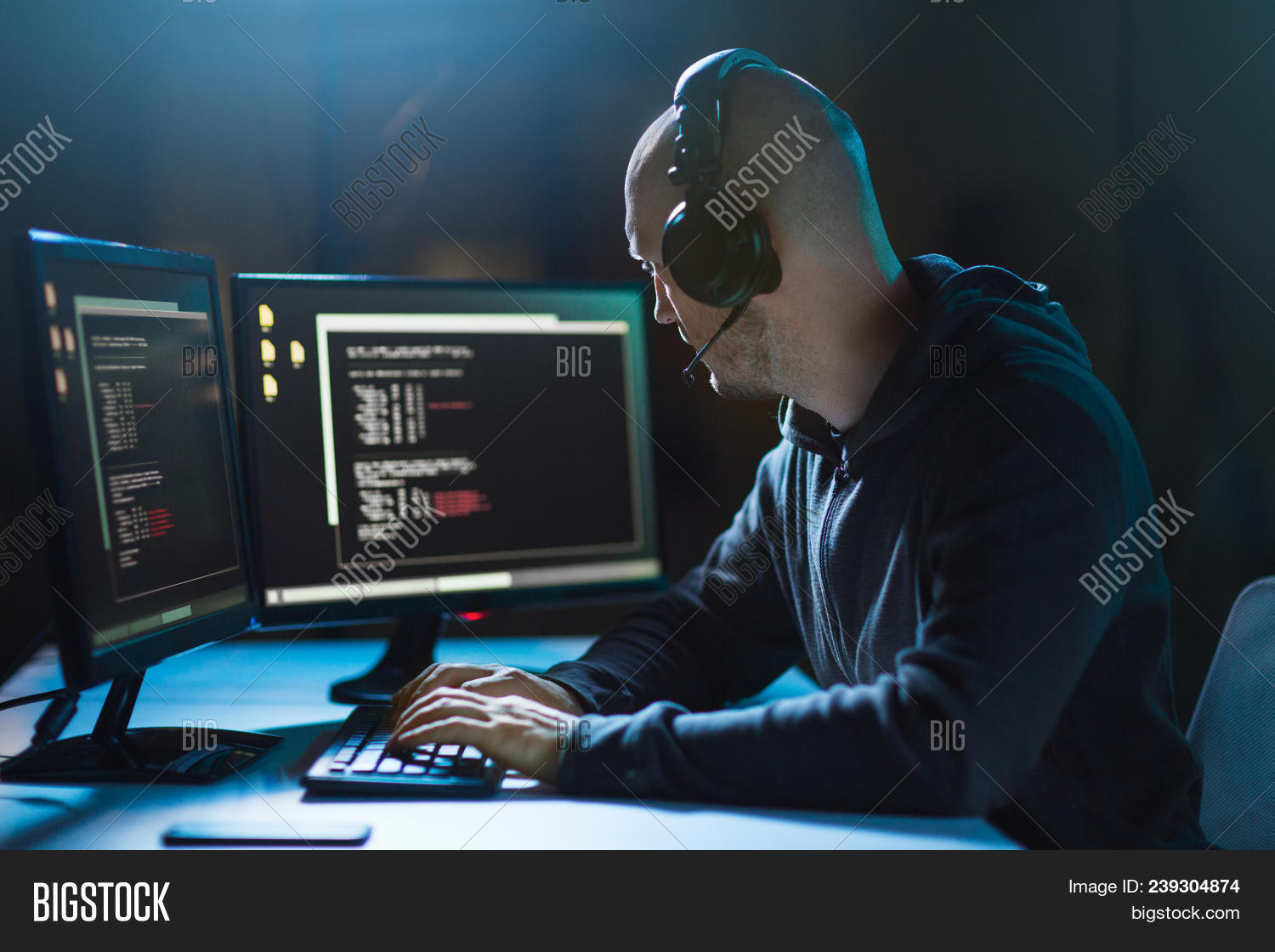 Cybercrime, Hacking Image & Photo (Free Trial) | Bigstock
