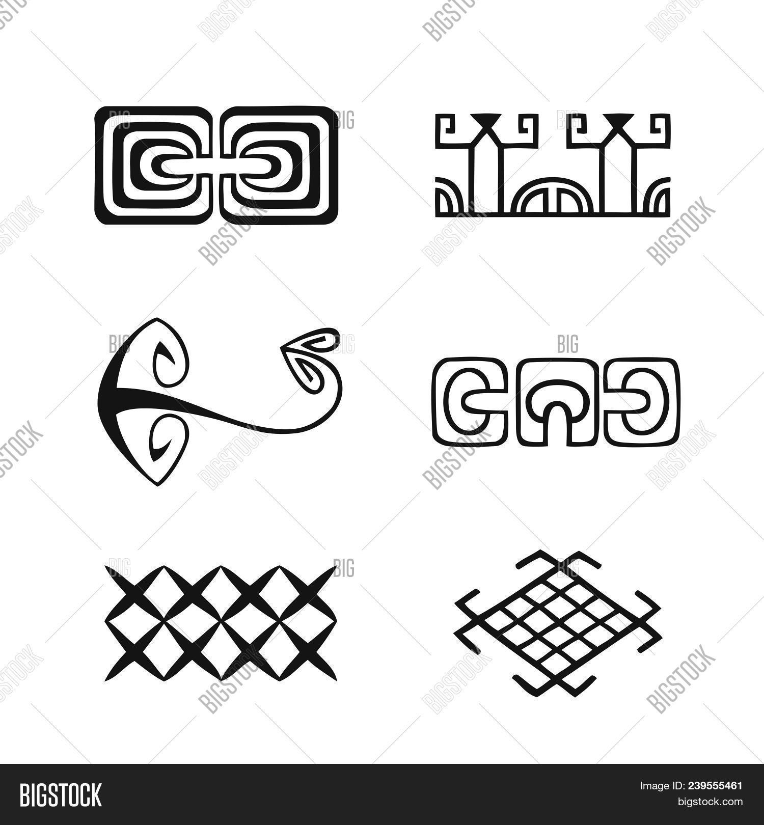 Polynesian Tattoo Vector Photo Free Trial Bigstock
