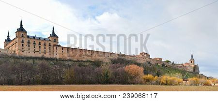 Ducal Palace At Lerma, Castile And Leon. Spain.