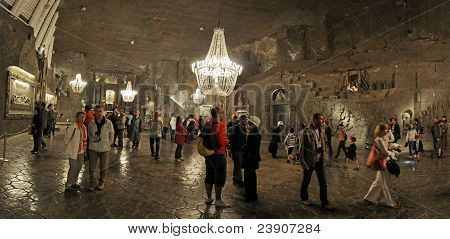 Cappella nel sale di miniera di Wieliczka