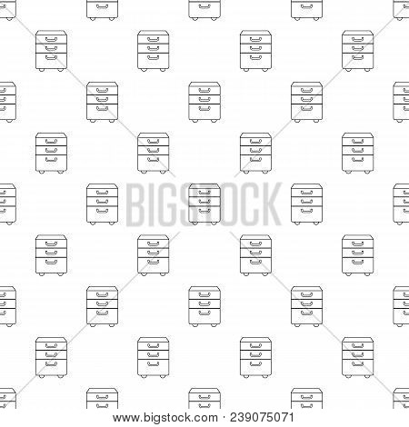 Office Closet Pattern Vector Seamless Repeating For Any Web Design