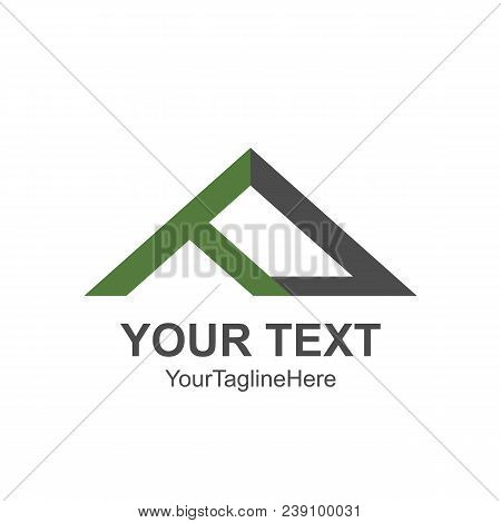 House Roof And Home Logo Vector Element. Company Logo Design.