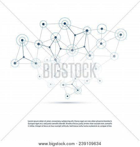 Cloud Computing, Networks Structure, Telecommunications Concept Design, Worldwide Network Connection