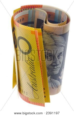 Australian Currency Rolled