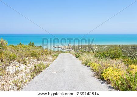 Lido Cala Lunga, Apulia, Italy - Hiking Trail To Torre Cala Lunga