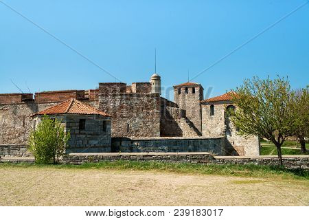 Baba Vida - Old Medieval Fortress In Vidin, In Northwestern Bulgaria. Travel To Bulgaria Concept.