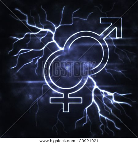 Man And Woman Thunderbolt