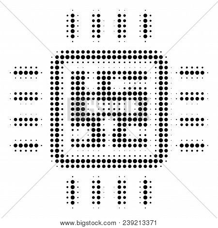 Dot Black Cpu Circuit Vector Photo Free Trial Bigstock