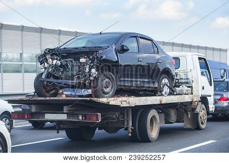 Help On Road Transports Wrecker Broken Car
