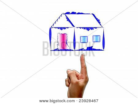 First house.