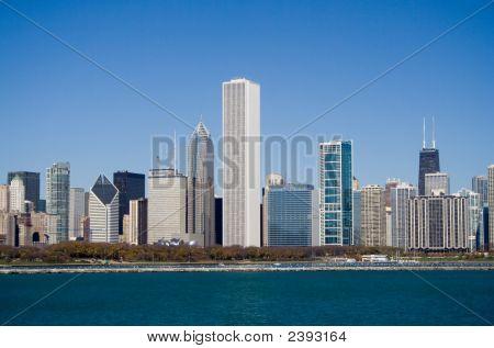 Chicago Lakeshore Skyline