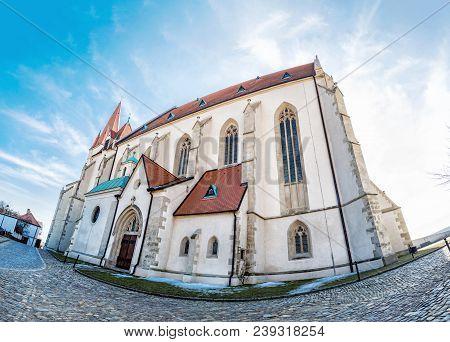St. Nicholas' Deanery Church, Znojmo, Fish Eye