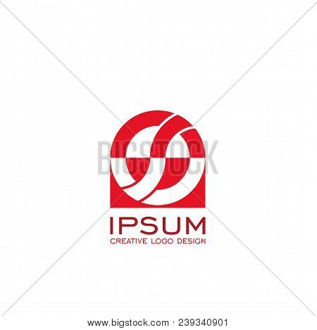 S Letter Logo, Os Letter, Creative Logo Design. Vector Icons.