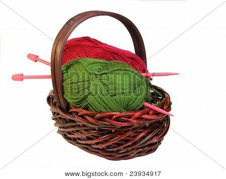 Knitting Basket