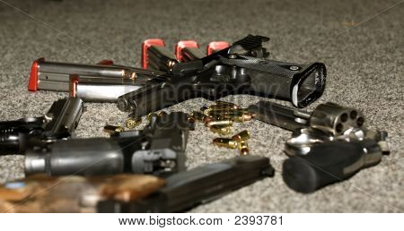 Handguns And Ammunition