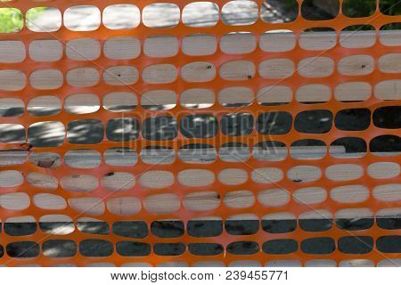 Stretched Plastic Netting For Emergency Net Fence