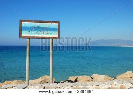 Sign For The Atlantic Ocean