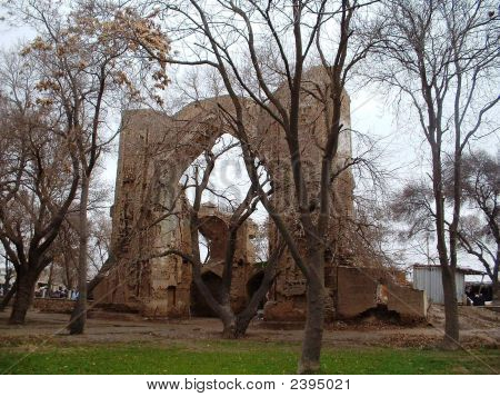 Ancient Arch In Balkh