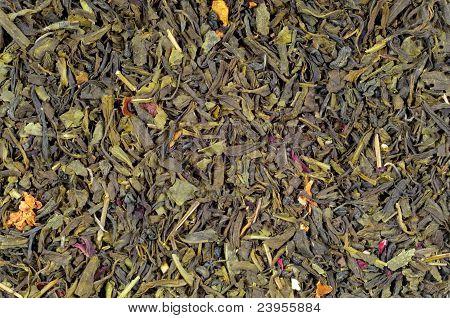 Background - green tea