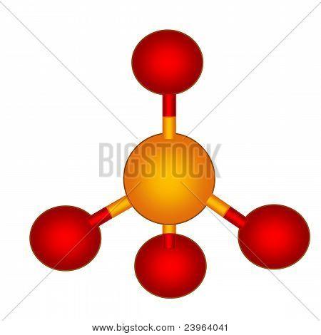 Phosphate Molecular Structure