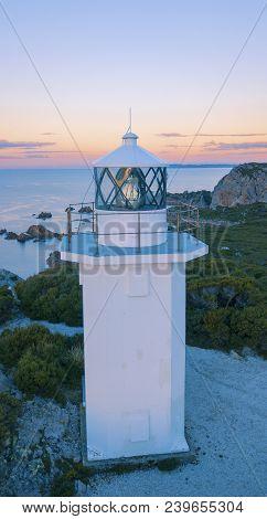 Rocky Cape Lighthouse.