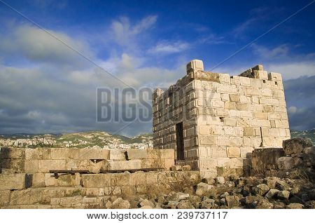 Byblos - Lebanon, Byblos Fortress, Photo Of Tourist Spot In The Country.