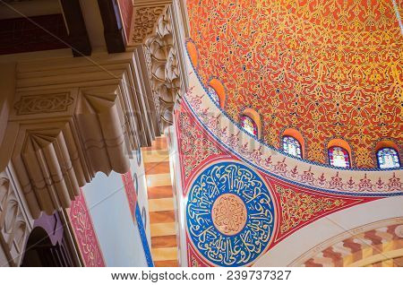 Beirut, Lebanon, April 03 - 2017: Mosque Of Mohammad Al-amin Mosque In Beirut Lebanon.