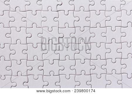Background White Jigsaw