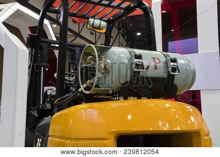 Gas Fuel Cylinder For  Industrial Forklift Truck