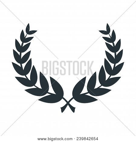 Wreath Round Frame Vector Photo Free Trial Bigstock