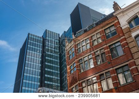 City Of London, London-september 7,2017: One Creechurch Place Or Known As One Mitre Square, Commerci