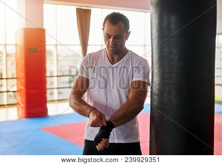 Kickbox Fighter Training