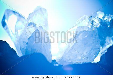 Mountain Rock Crystall