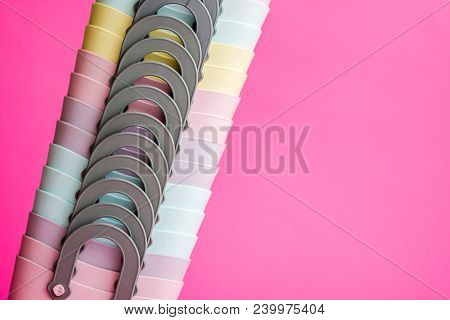 Colorful Mini Plastic Bags With Handles