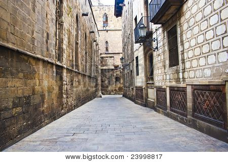 Barcelona ancient quarter
