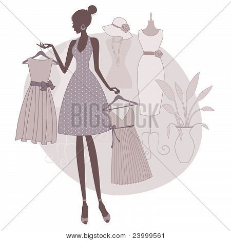 Shopping for a Dress