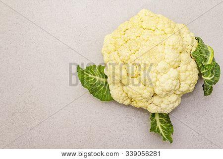 Fresh Raw Cauliflower.