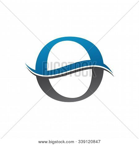 Initial Letter O Logo With Creative Modern Business Typography Vector Template. Creative Abstract Le