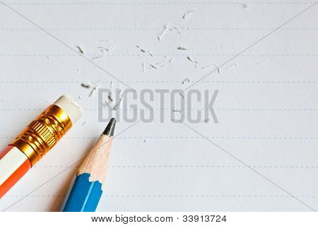 The Paper And Two Pencils