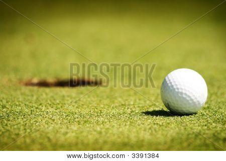 Golf Ball Ready To Go Home